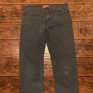 Men's Arizona Gray wash denim jeans 29x30